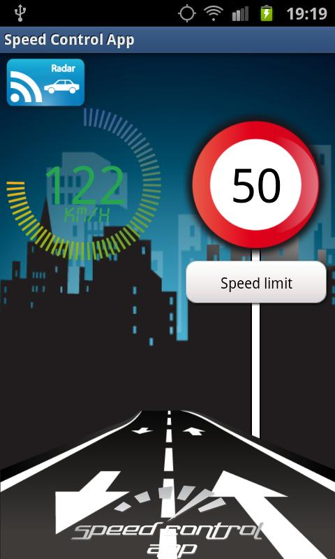 Speed Control App- screenshot