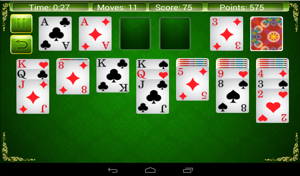 Solitaire 4 in 1- screenshot