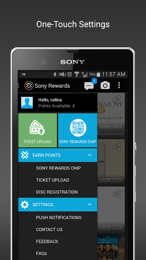 Sony Rewards- screenshot