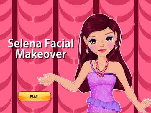 Selena Facial Makeover