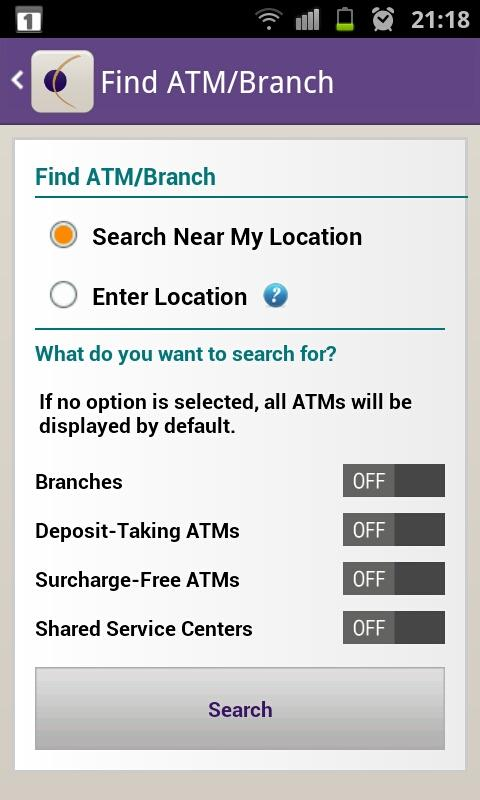 Orange County's CU Mobile App - screenshot