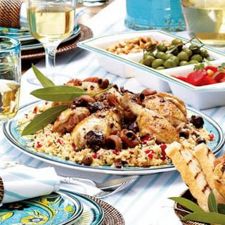 Slow-Cooked Mediterranean Chicken.