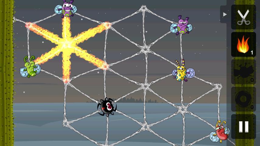 Greedy Spiders- screenshot
