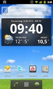 Wetter Widgets Österreich- screenshot thumbnail