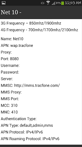 Download APN Settings for ALL (BEST) Google Play softwares