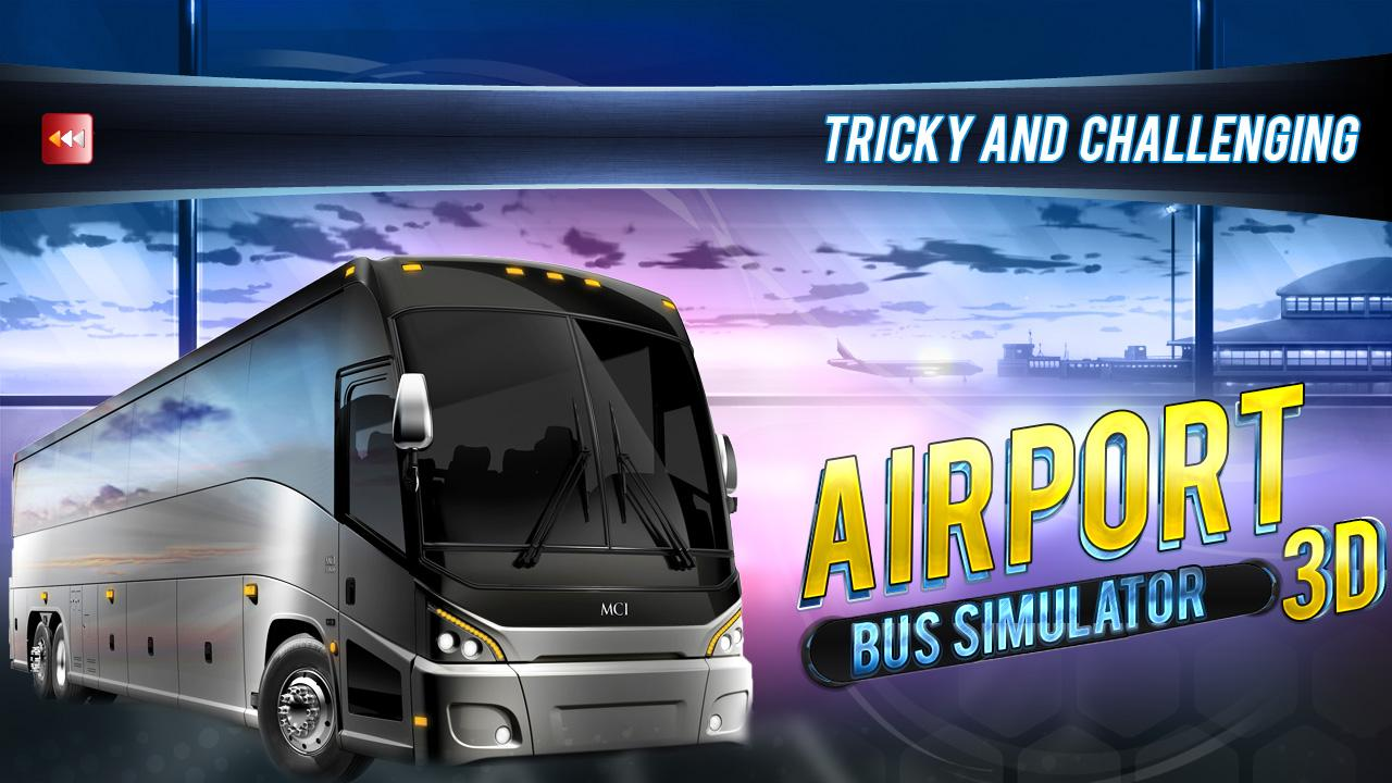 Airport Bus Simulator 3D- screenshot