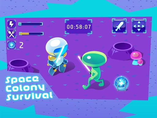 Space Colony Survival