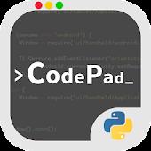 CodePad python plugin