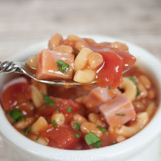 Slow Cooker Ham & Bean Chowder