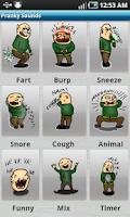 Screenshot of Fun App- Fart Burp Snore Cough