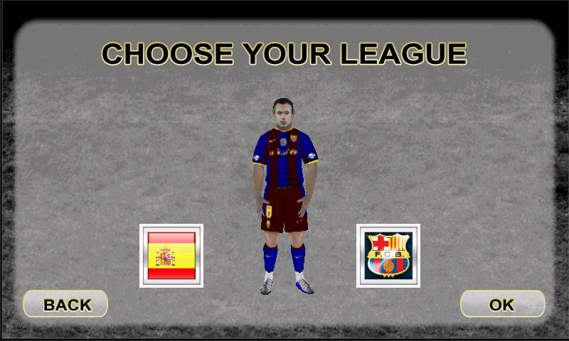 Iniesta's Goalbreaker - screenshot