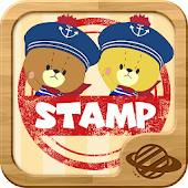 TINY TWIN BEARS' RYTHM STAMP