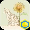 고양이춤 - 카카오홈 테마 icon
