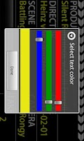 Screenshot of Film Clapper Board Lite