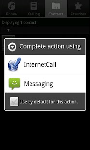 Phone2Phone Internet Calling - screenshot thumbnail