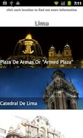 Screenshot of Lima Travel Guide