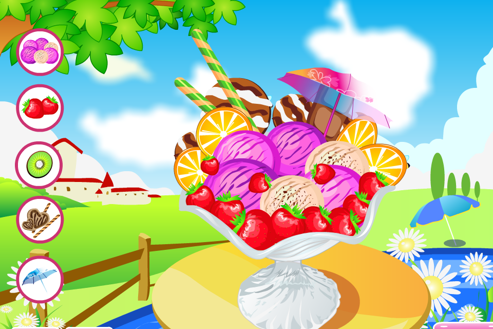Cooking Ice Cream Games - screenshot