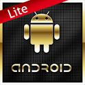 Gold Droid Lite GO Launcher EX icon
