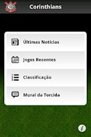 Screenshot of Corinthians Mobile