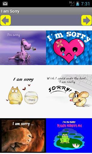 I am Sorry 對不起卡