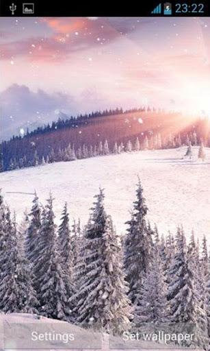 【免費攝影App】Winter Sunrise Live Wallpaper-APP點子