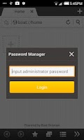 Screenshot of Boat Password Manager Add-on