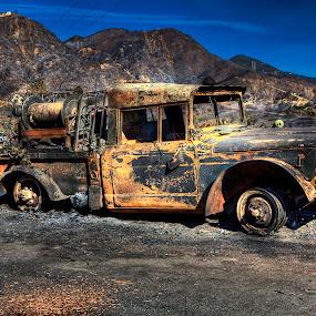 Results from the Tea fire Santa Barbara Nov 2008  by Brandon Chapman - Transportation Automobiles