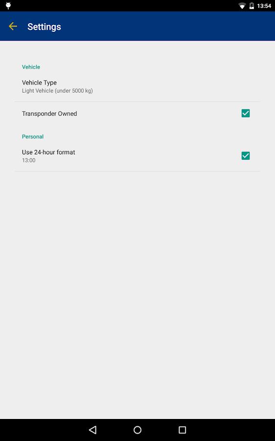 407 Toll Calculator - screenshot