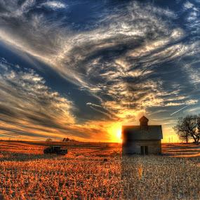 Crazy sky by Casey Mitchell - Landscapes Sunsets & Sunrises (  )