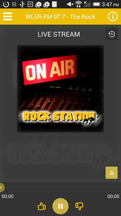 The Rock Station 97.7-FM- screenshot