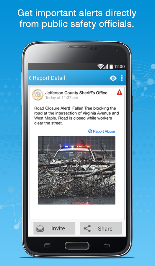 MobilePatrol Public Safety App - screenshot