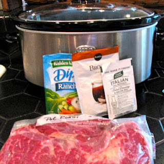 Savory Crock Pot Roast.