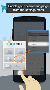 Spanish for ai.type Keyboard - screenshot thumbnail