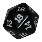 Role playing dice icon