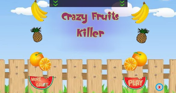 Crazy Fruits Killer- screenshot thumbnail