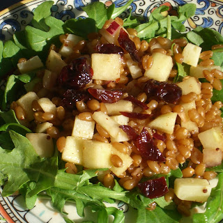 Apple and Manchego Salad with Wheatberries