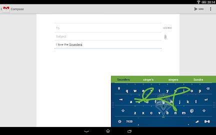 Swype Keyboard Screenshot 1