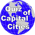 Quiz of Capital Cities logo