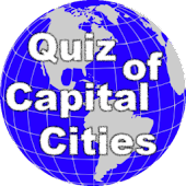 Quiz of Capital Cities