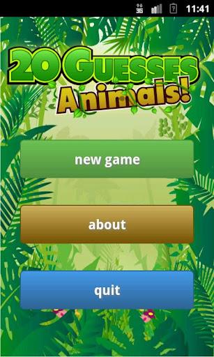【免費休閒App】20 Guesses: Animals!-APP點子