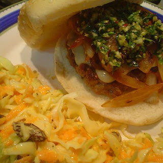 Hamburgers with Garlic.