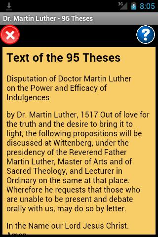 martin luther the 95 thesis Martin luther's 95 theses paved the way for the birth of a great spiritual movement called the protestant reformation the reformation ultimately signaled the.