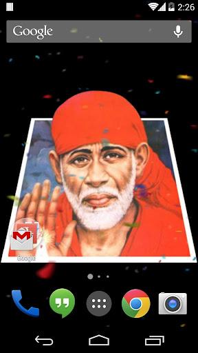 Sai Baba 3D Effects