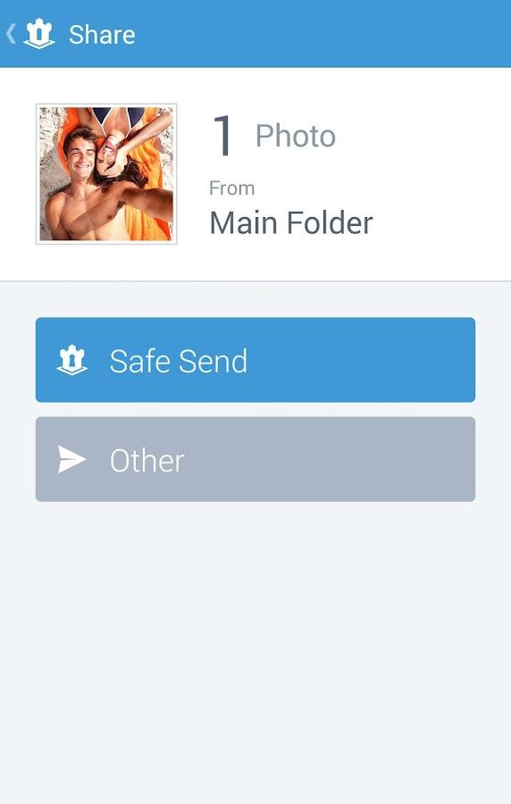 Hide pictures - KeepSafe Vault - screenshot