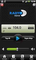 Screenshot of Radyo D