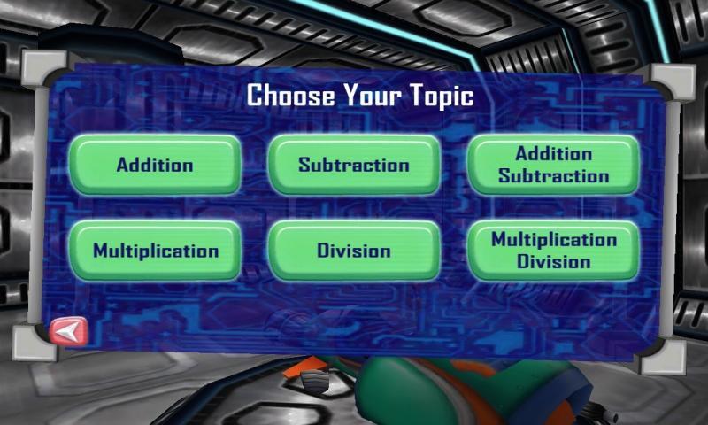 Math Blaster HyperBlast- screenshot