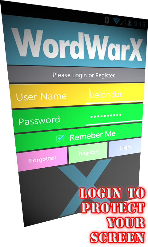 WordWarX Anagram Word Game Pay - screenshot