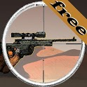 Sniper vs terrorism: oil war icon