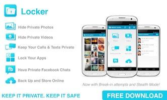 Screenshot of Locker Hide Photos, Videos SMS