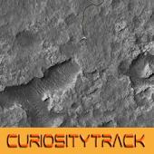 Curiosity Rover track map